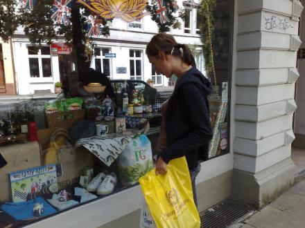 Shopping bei Sweet Suburbia in Hamburg