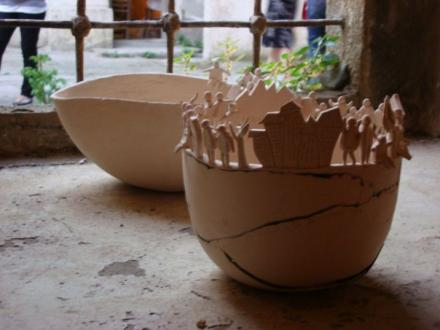 Inzumka Ausstellung von be made Ceramic Works