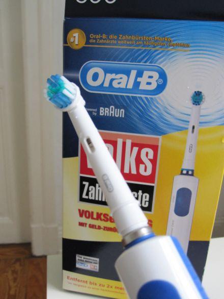 Oral-B Zahnbürstentest