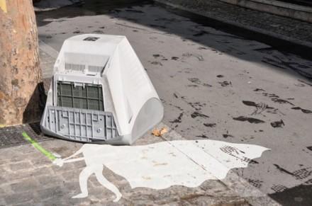 Streetart White vador