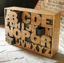 Alphabet Drawer von Kent and London
