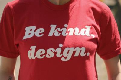 Be kind, design Shirt von design is mine