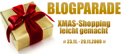 Blogparade X-Mas Shopping