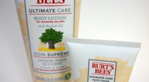 Produkttest: Burt's Bees Ultimate Care Pflegeserie