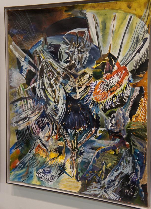 Carola Ernst Gemälde auf der Art Cologne