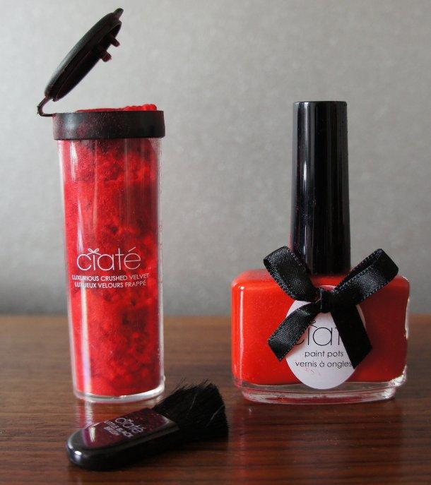Velvet Manicure Nail Art von CIATÉ