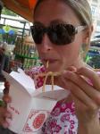 Chinesisches Essen, Naschmarkt in Wien