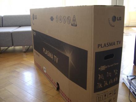 Riesenfernseher braucht Riesenkräfte