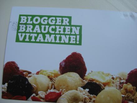 Vitamine für Blogger?