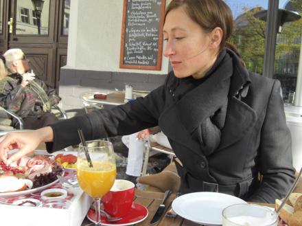 Frühstück im Soprano, Berlin