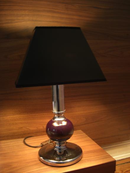 Nachttischlampe vom Eppendorfer Flohmarkt
