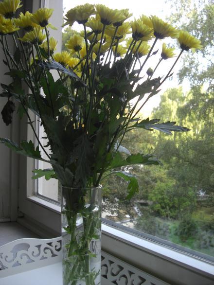 Herbstlicher Blumenkauf