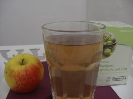 Wellness mit Apfel und Zimt