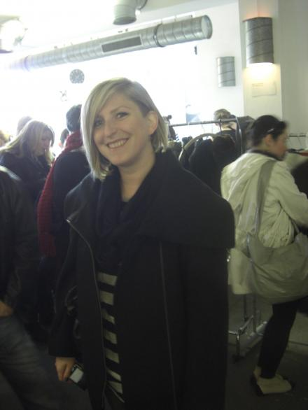 Sandra von Shoppingverse auf dem Mädelsflohmarkt