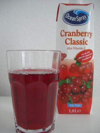 Cranberry Saft von Ocean Spray