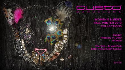 Einladung CUSTO Show NY