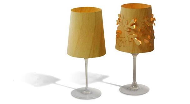 Designer Windlicht