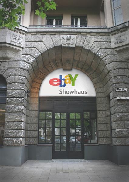 eBay Showhaus, Kurfürstendamm in Berlin