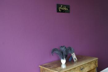 Der violette Speisesaal