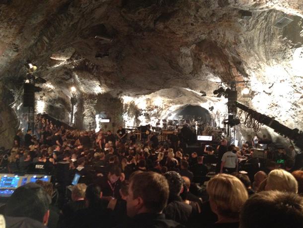 Die Fantastischen Vier Generaprobe MTV unplugged Balver Höhle