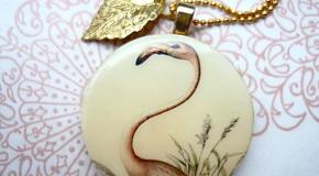 Kette der Woche: Flamingo Nostalgie