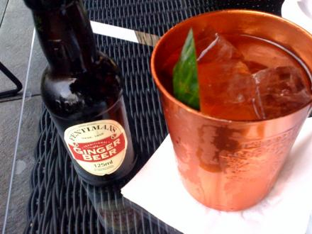 Moscow Mule im The George in Hamburg