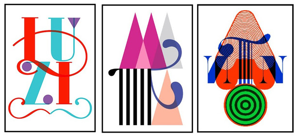 Typographische Namensgestaltung von hildecard.de