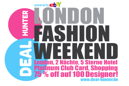 Gewinnspiel London Fashion Weekend