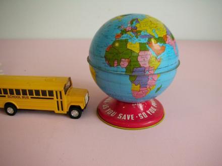 Vintage Globus von Sweetshorn