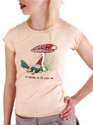 Gnome Mushroom T-Shirt