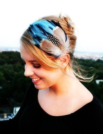 Haarband von Feather Brain
