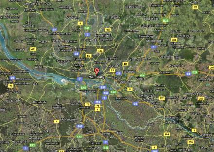 In und rund um Hamburg