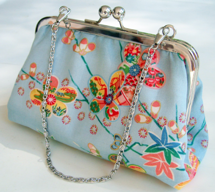 Handtasche / Clutch über DaWanda