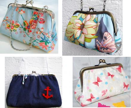 Handtaschen von Habseligkeiten