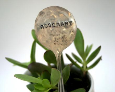 Silber für den grünen Daumen über Etsy