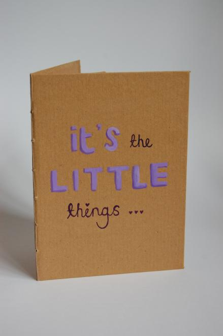 It`s the little things…
