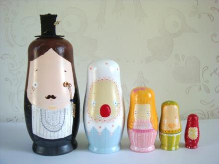 Matryoshka Puppen über lisahuang 921 auf etsy