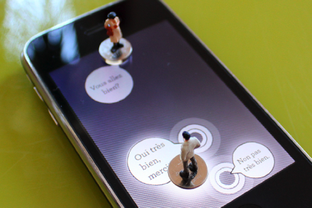 iPhone Game mit Miniaturen