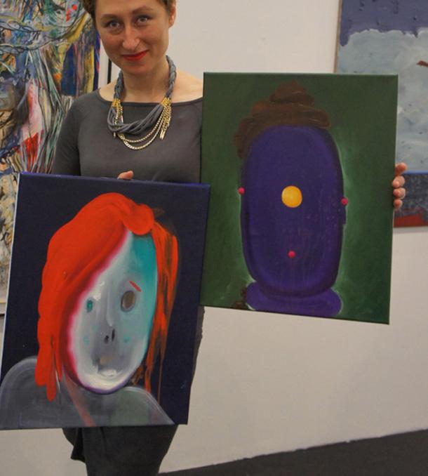 Kunstkauf Stefan Pfeiffer auf der Art Cologne