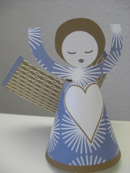 Engel zum selbst Basteln über la Mesa