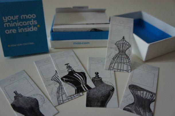 Minicards von moo.com