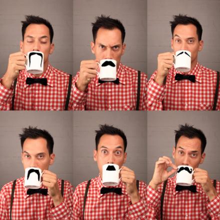 Moustache Becher von PETER IBRUEGGER