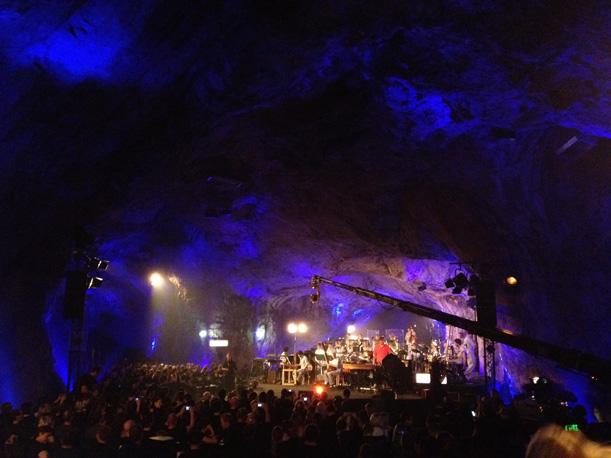Fantastische Vier MTV unplugged Generalprobe Balver Höhle