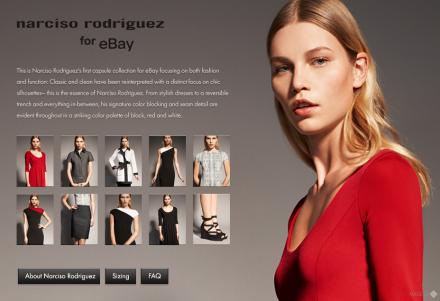Narciso Rodriguez Shop auf eBay