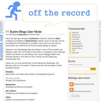 myshoppingbag bei off the record