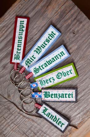 Oktoberfest Accessoire Schlüsselanhänger