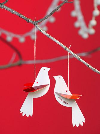 Love Dove Card von Polli