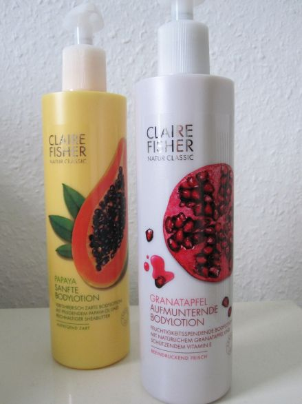 Bodylotions von Claire Fisher