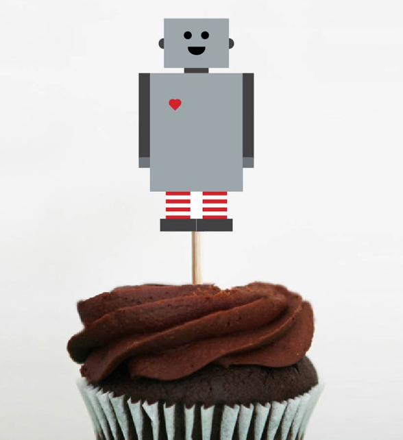 Muffin dekoration idee myshoppingbag - Dekoration muffins ...