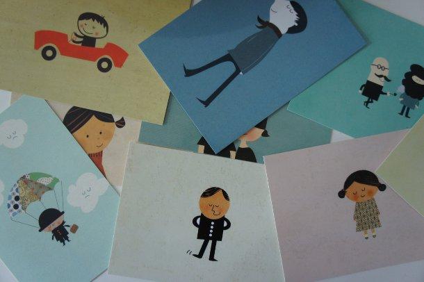 Postkarten über moo.com